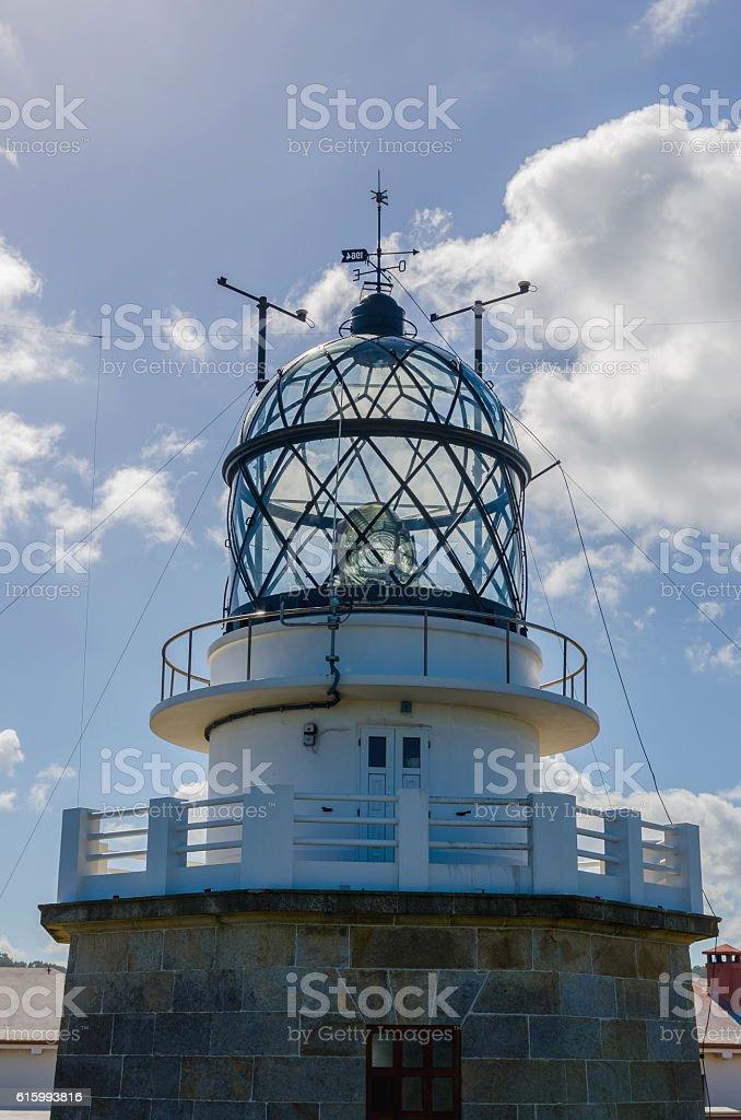 detail on Estaca de Bares lighthouse stock photo