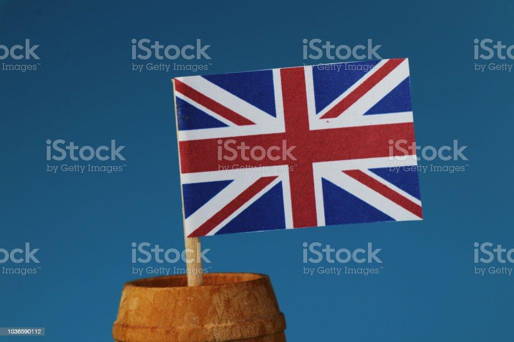 petit drapeau anglais - photos et images libres de droits