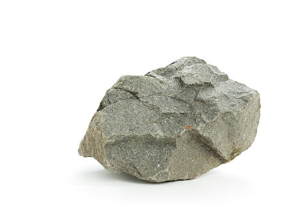 Detail photograph of a basalt rock on a white background http://www2.istockphoto.com/file_thumbview_approve/18042003/1/istockphoto_18042003.jpg stone object stock pictures, royalty-free photos & images