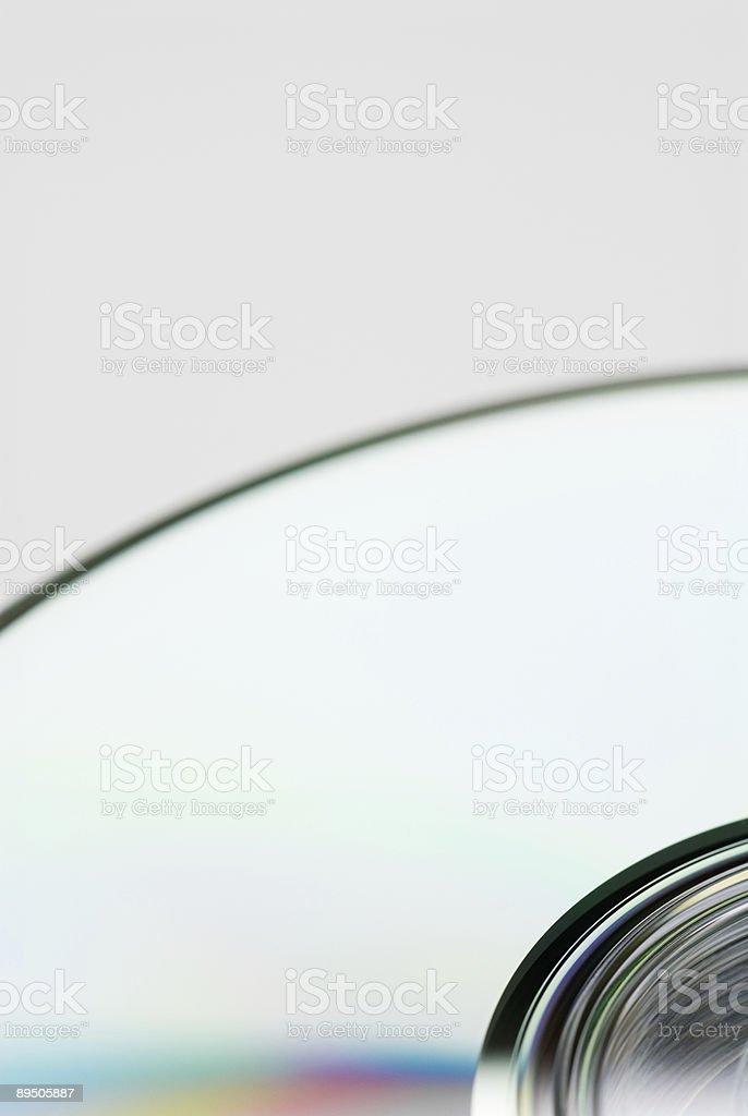 CD-ROM Detail royalty-free stock photo