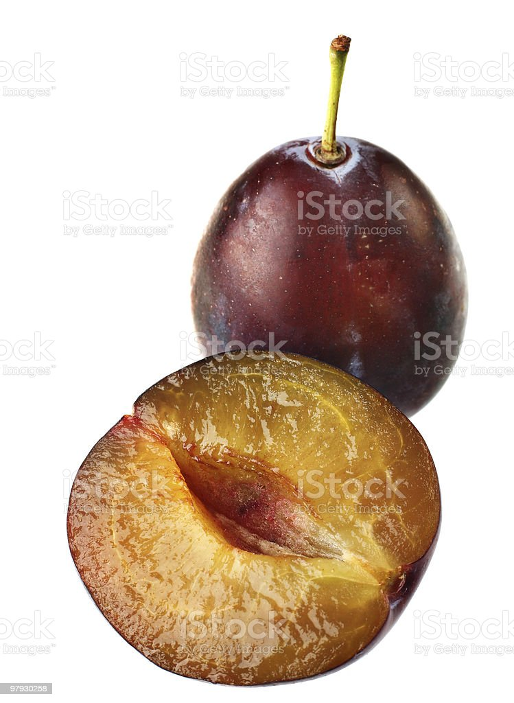 Detail plum royalty-free stock photo