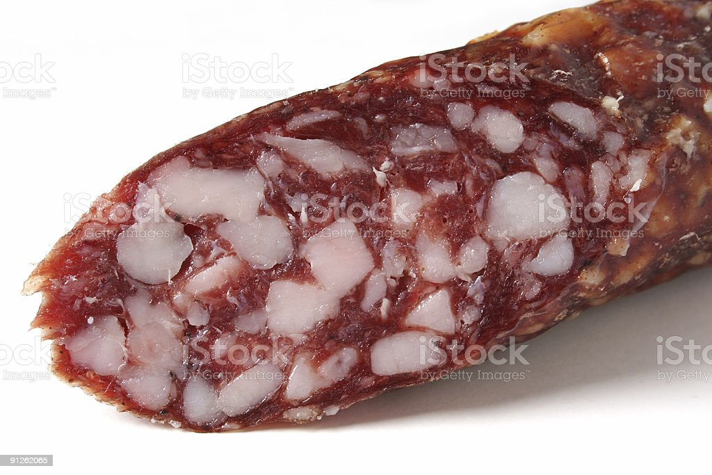 Detail sausage royalty-free stock photo