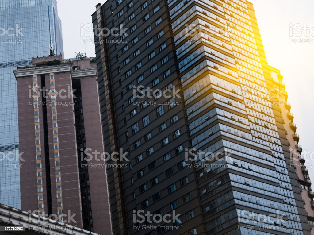 detail shot of modern architecture facade royalty-free stock photo