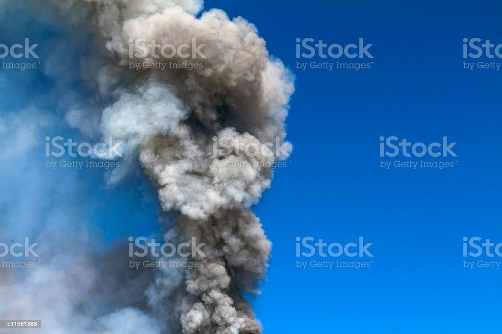 detail volcanic ash stock photo