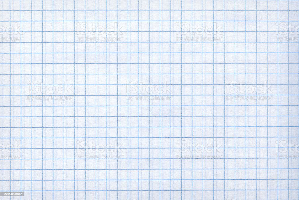 Detailed blank math paper pattern stock photo