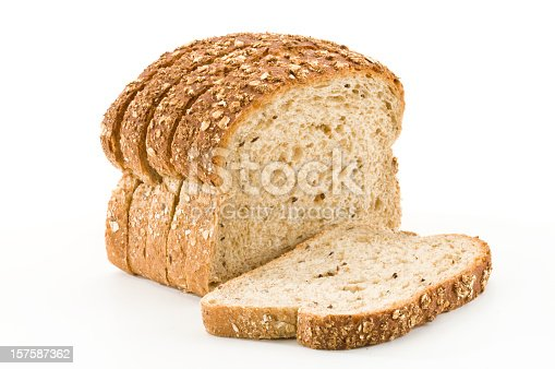 Sliced Bread on White Backgroundhttp://i1215.photobucket.com/albums/cc503/carlosgawronski/FoodonWhite.jpg