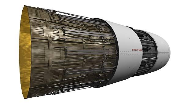 Detaillierte jet propulsion – Foto