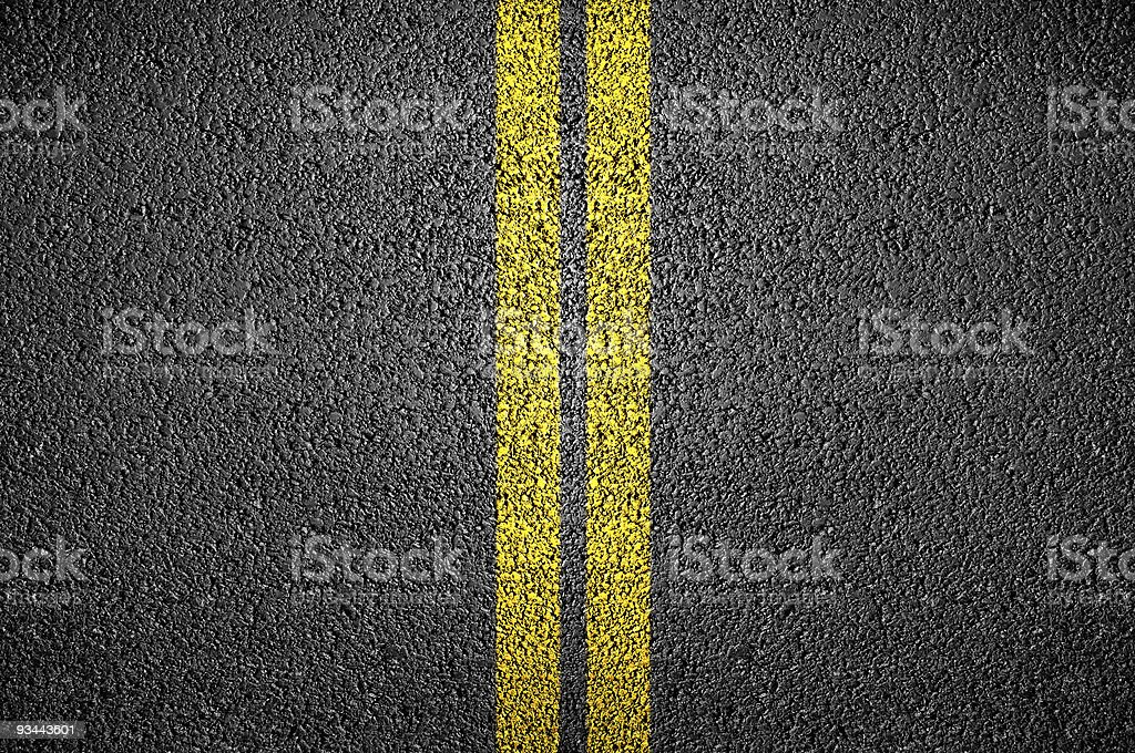 Detailed photograph of road asphalt royalty-free stock photo