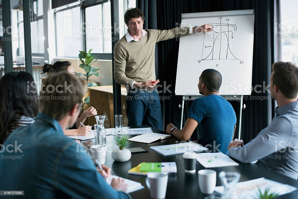 Detailing the road to greater success stock photo