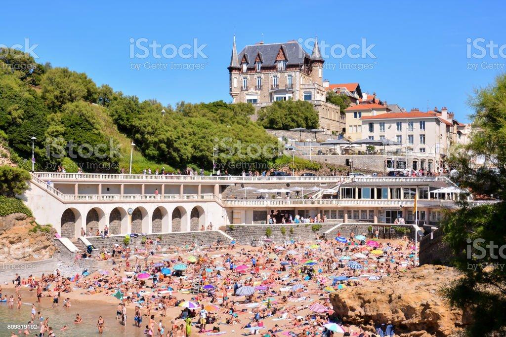 détails et paysages de la ville de Biarritz en France - Photo