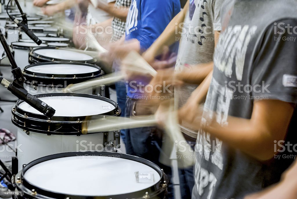 Details from a showband stock photo