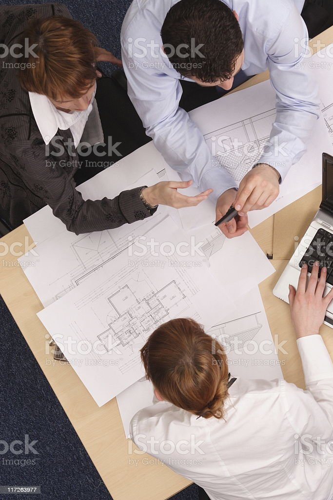 details negotiations royalty-free stock photo