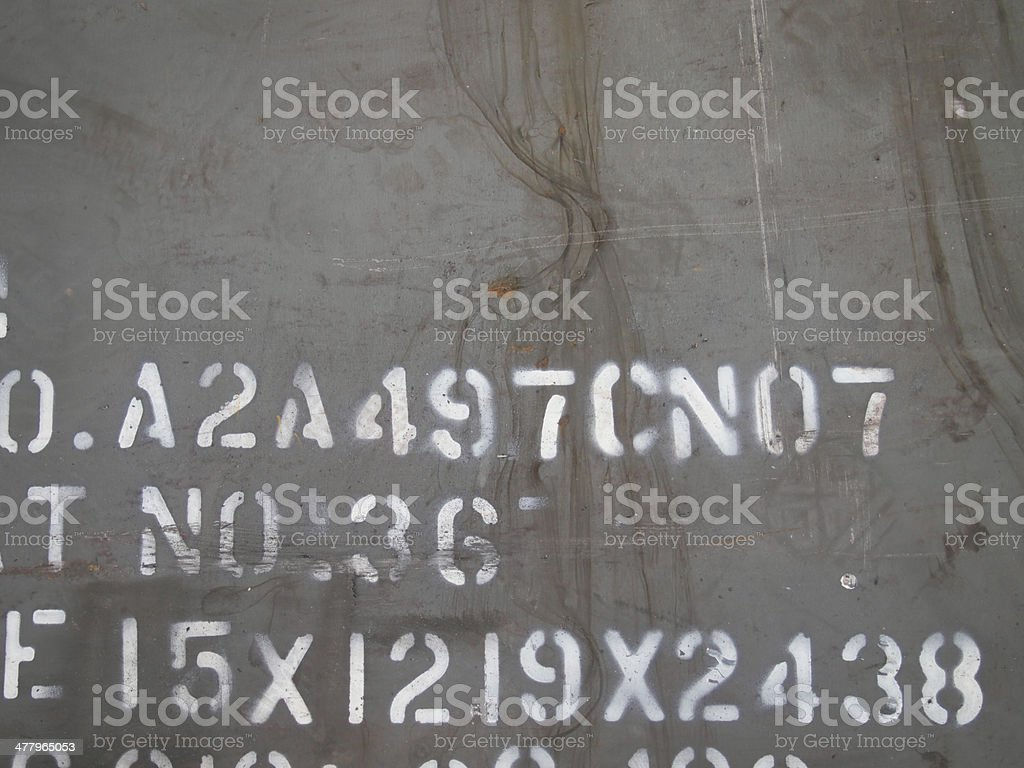 Details of an old grungy royalty-free stock photo