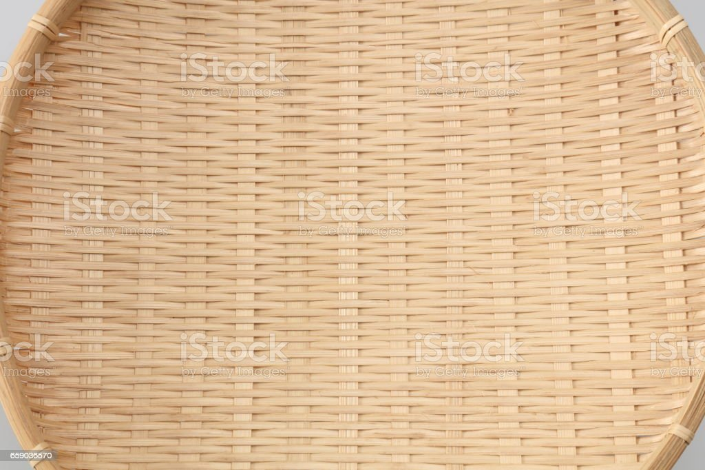 details of bamboo sieve royalty-free stock photo