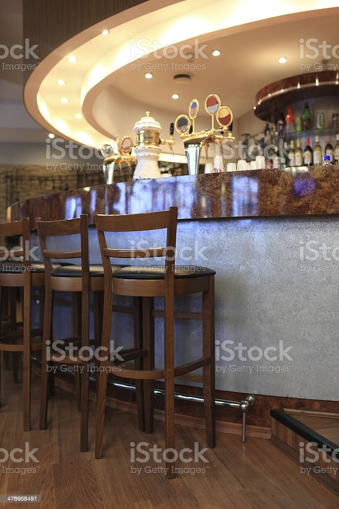 Details of bar stock photo