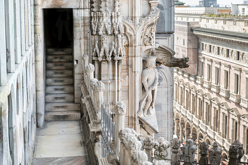 Details of Cathedral of Milan