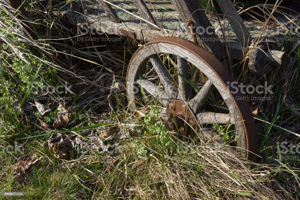 details of eastern time at rural countryside in south germany stock photo