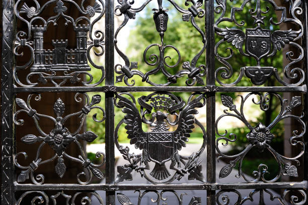 Details of Gate in Yale University