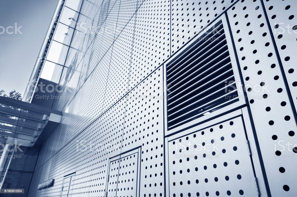 Details of modern architecture stock photo