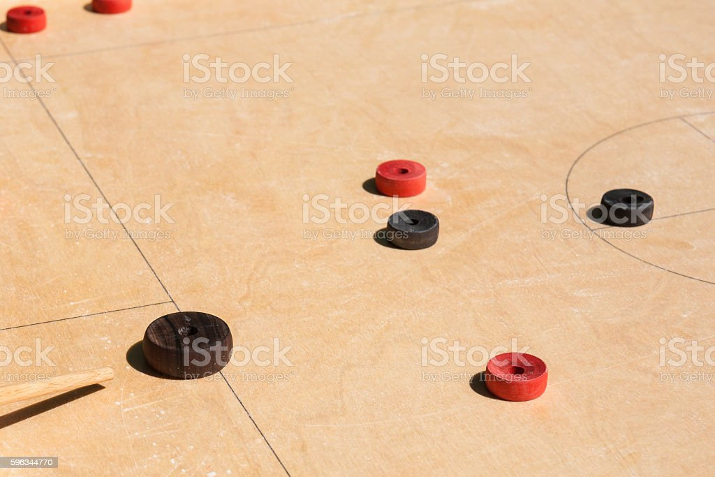Details of novus table game stock photo