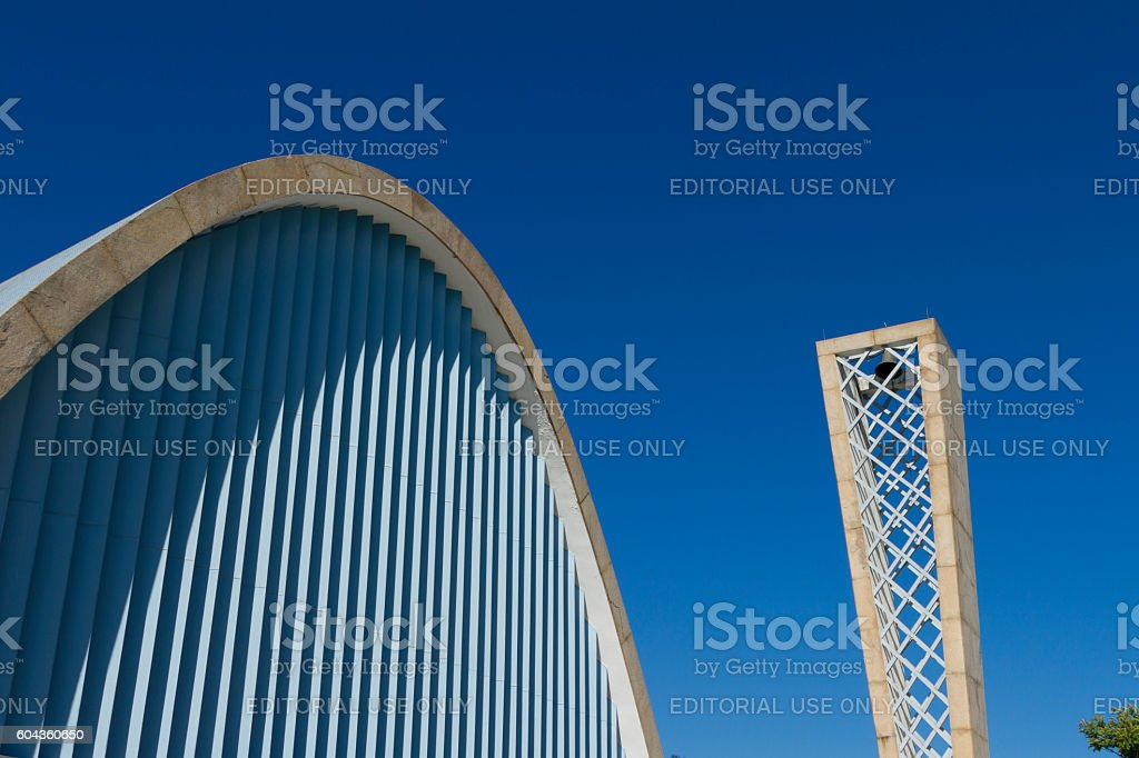 Details of St. Francis of Assisi Church, Belo Horizonte, Brazil stock photo