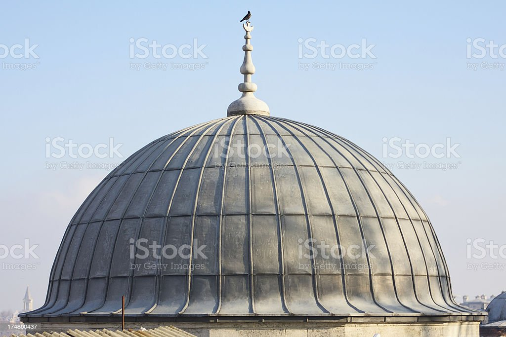 Details of Suleiman's Mosque complex. Istanbul, Turkey. royalty-free stock photo