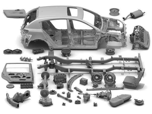 자동차의 세부 정보 - 예비 부품 뉴스 사진 이미지