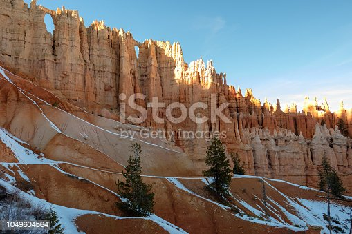 Details of the Hoodoos at Bryce Canyon National Park