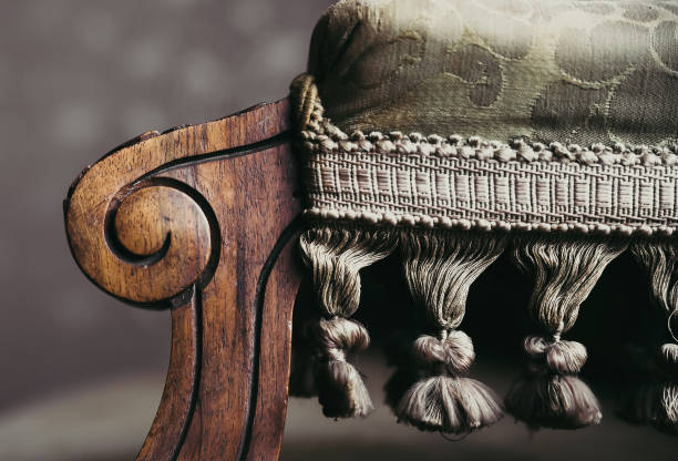 Details der Vintage-Möbel – Foto