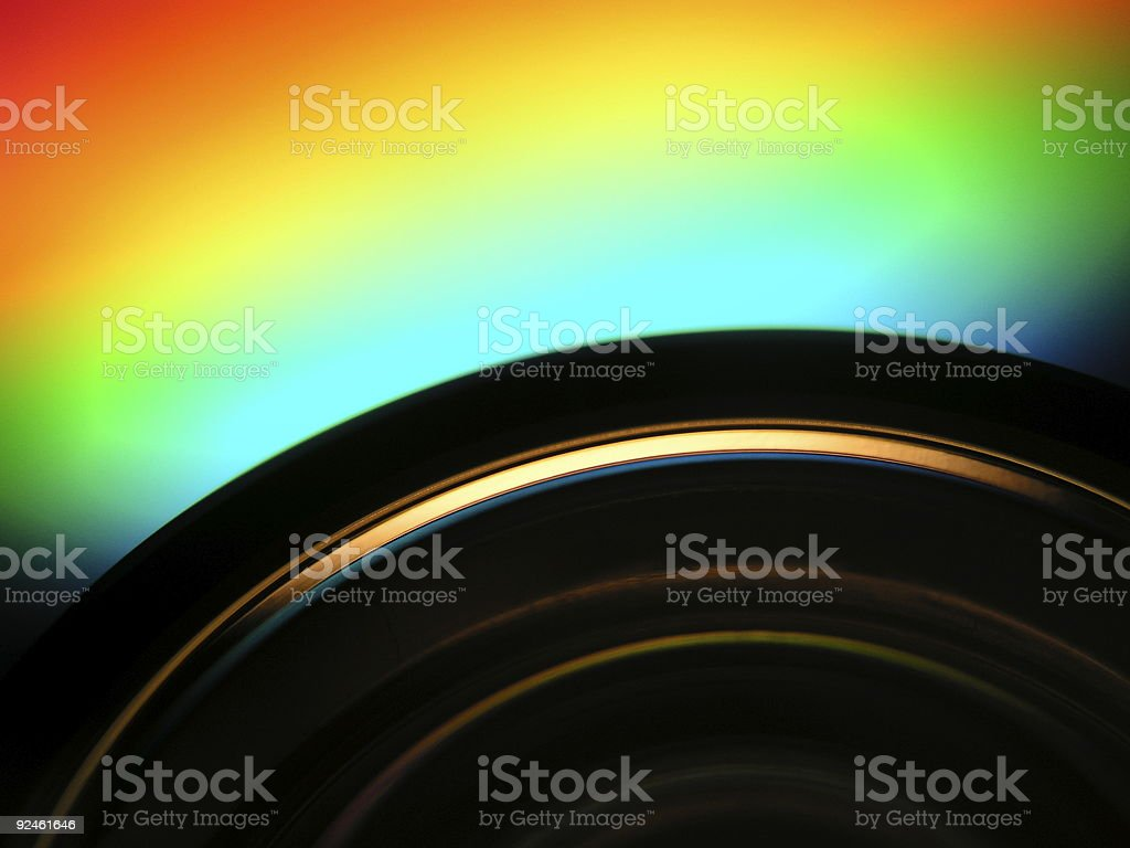 DVD Details royalty-free stock photo