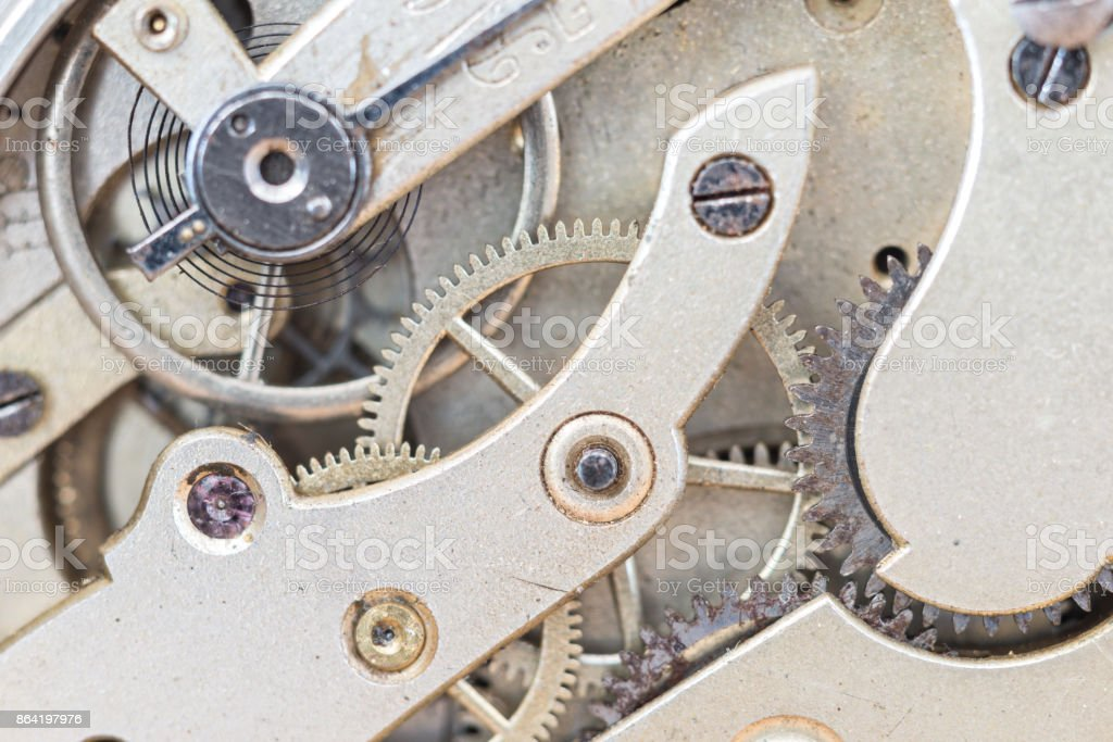 Details Pocket Watch royalty-free stock photo