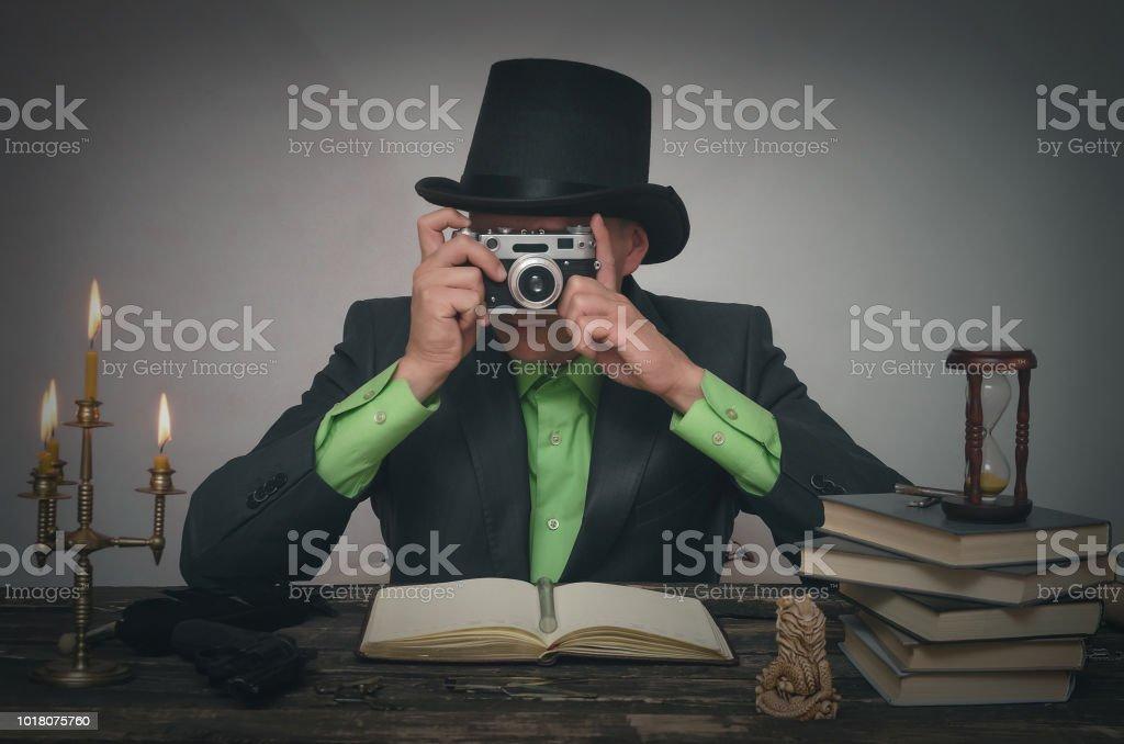 Detektiv-Agent. – Foto