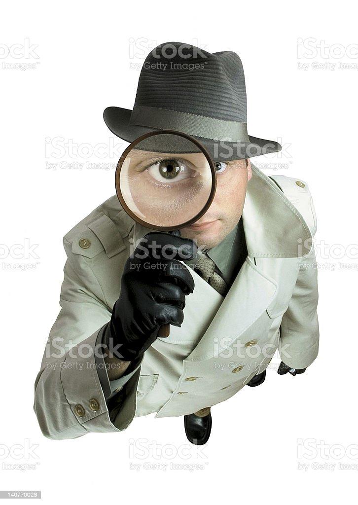 Detective royalty-free stock photo
