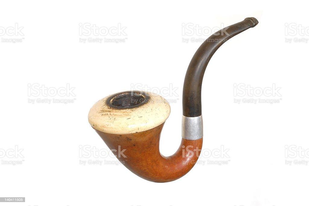 Detective pipe stock photo