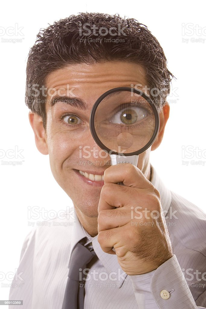 Detective work royalty-free stock photo
