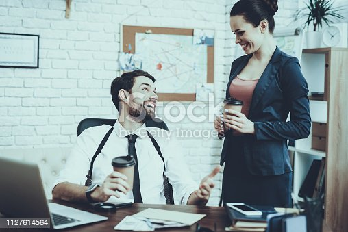 istock Detectives is Working in Private Detective Agency 1127614564