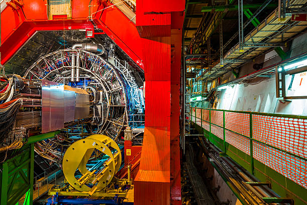 Detector experiments ATLAS (A Toroidal LHC Apparatus) large hadron collider stock pictures, royalty-free photos & images