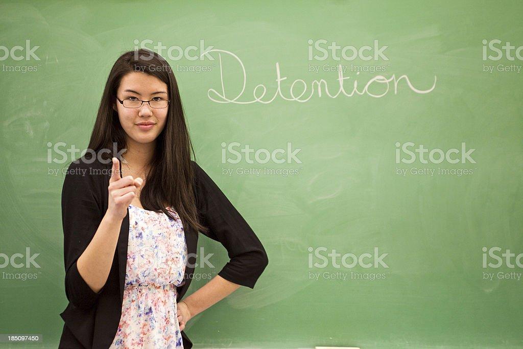 Detention stock photo