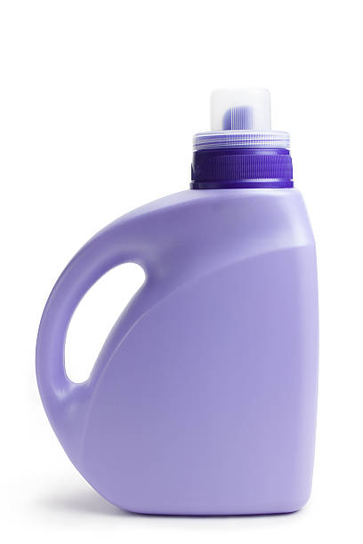 Detergent bottle Detergent bottle,isolated on white background. laundry detergent stock pictures, royalty-free photos & images
