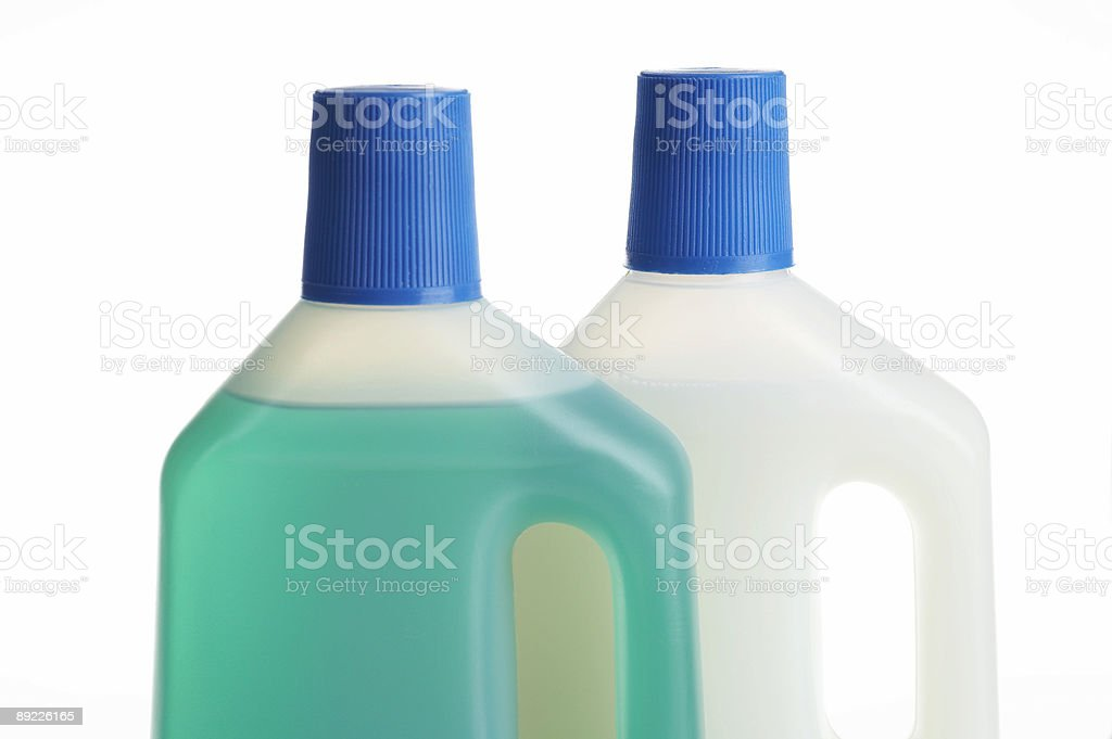 Waschmittel Flaschen Lizenzfreies stock-foto
