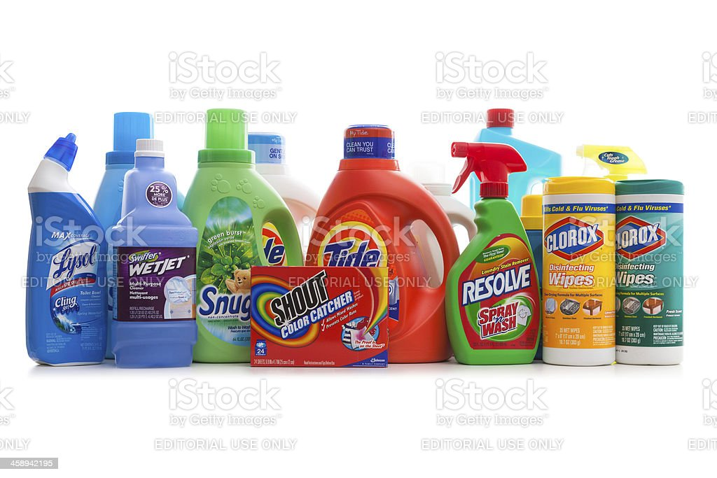 Detergents royalty-free stock photo