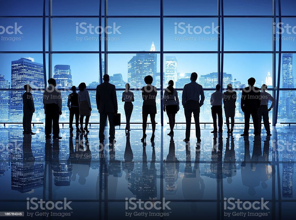 Determination Business people royalty-free stock photo