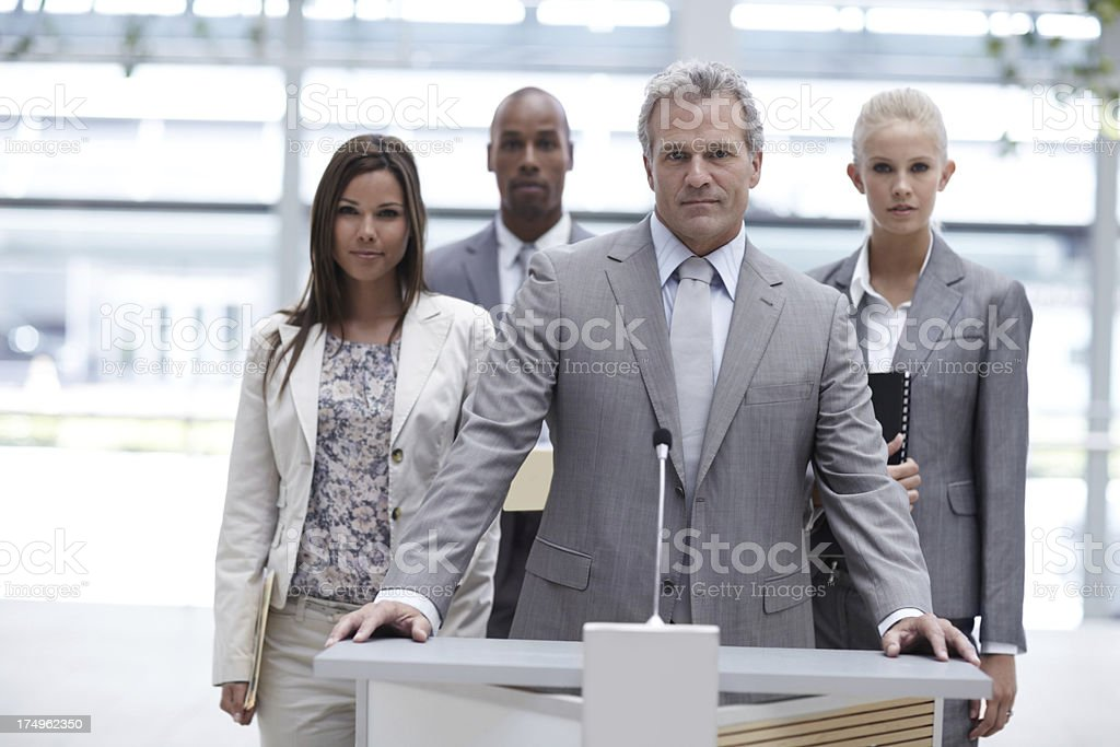 Determination has never looked so good royalty-free stock photo
