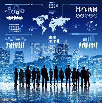 istock Determination of Business Teamwork 488574059