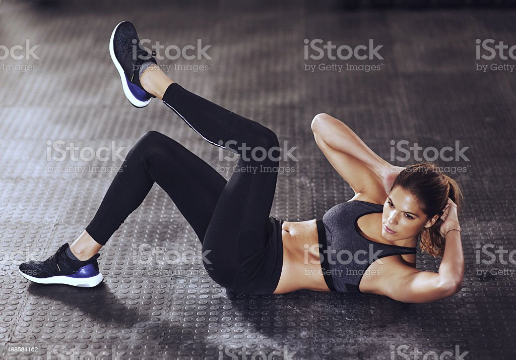Determination today, success tomorrow stock photo