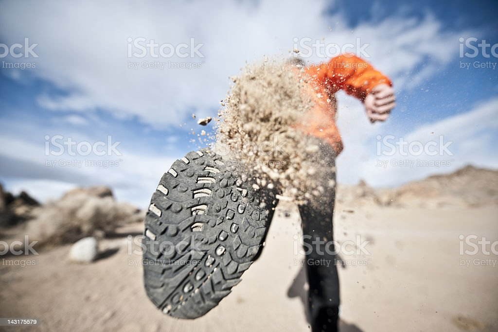determined stock photo