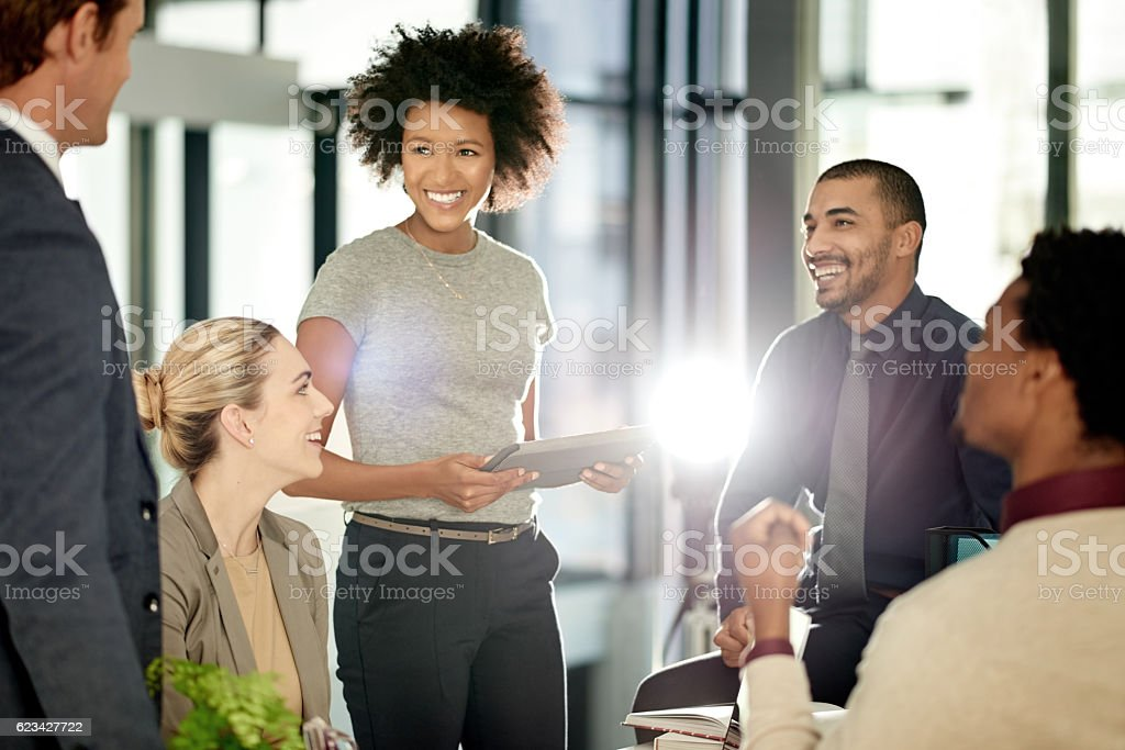 Determined to make their future shine brightly stock photo