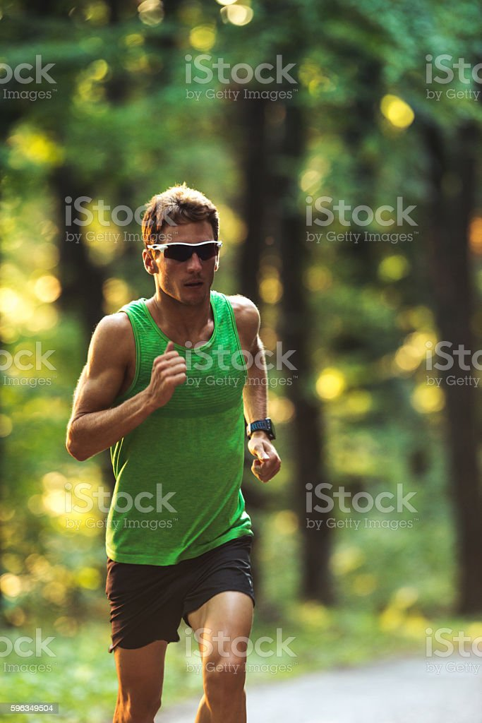Determined to stay in shape royalty-free stock photo