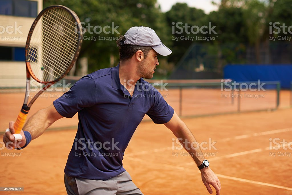 Determined to win the set royalty-free stock photo