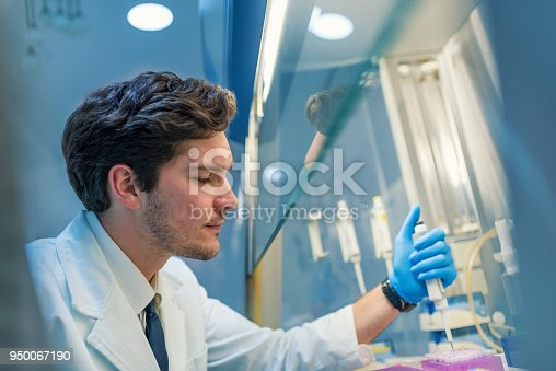 162264253 istock photo A determined young chemist 950067190